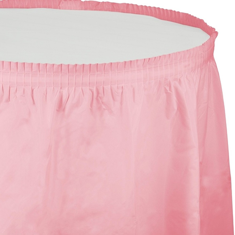Candy Pink Table Skirt, Party Decorations and Accessories