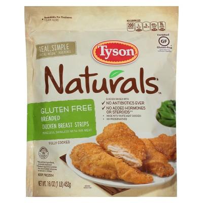 Tyson Gluten Free Breaded Chicken Strips - Frozen - 14oz