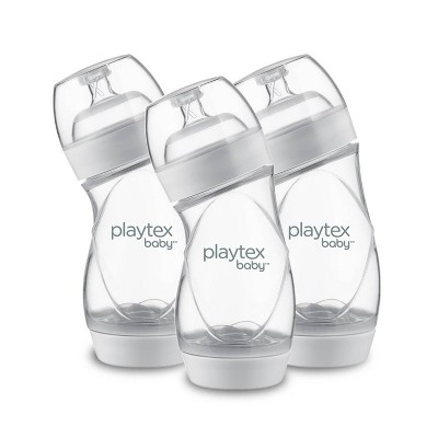 Playtex VentArie Advanced Wide Baby Bottle - 9oz 3pk
