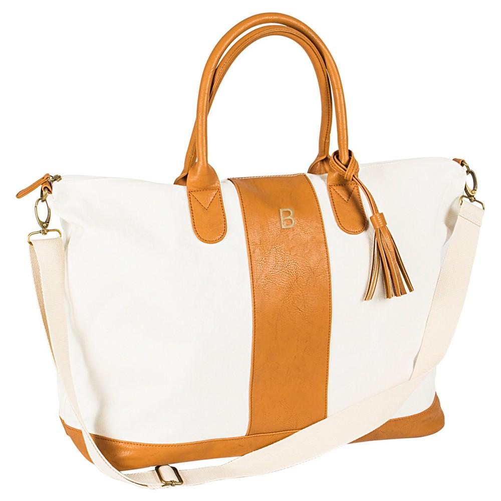 Cathy's Concepts Women's Monogrammed Weekender Bag - Brown B