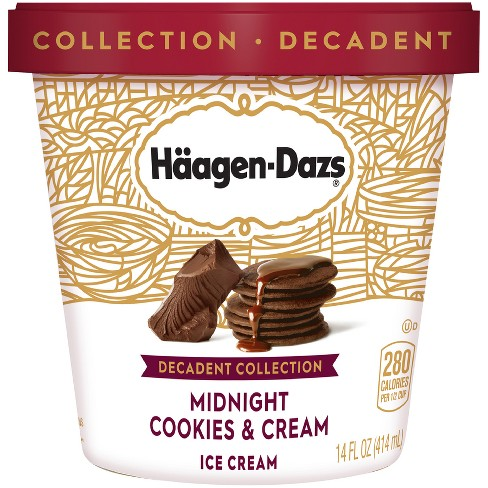 Haagen Dazs® Midnight Cookies & Cream Ice Cream - 14oz
