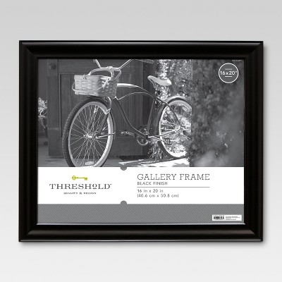 16 x20  Picture Frame Black - Threshold™