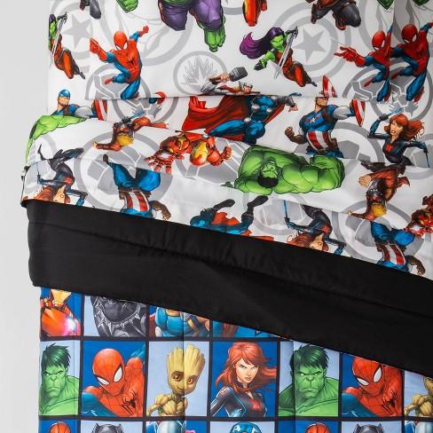 Marvel Avengers Team Bed Set Blue - image 1 of 3