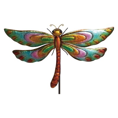 60 H Metal Butterfly Garden Stake - Backyard Expressions