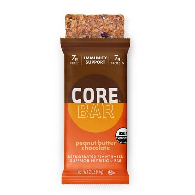 CORE Organic Refrigerated Oat Bar Peanut Butter Chocolate - 2oz