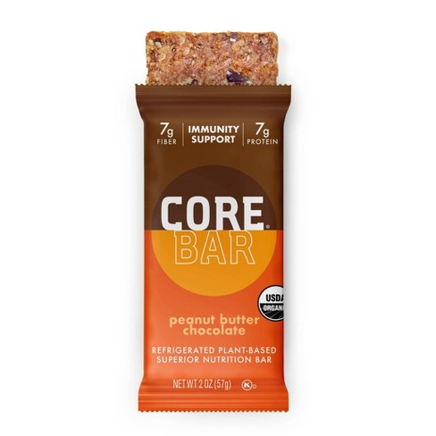 CORE Organic Refrigerated Oat Bar Peanut Butter Chocolate - 2oz - image 1 of 2
