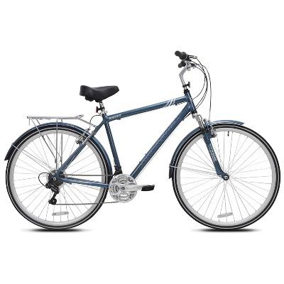 "Kent Men's Ridgeway 700c/28"" Hybrid Bike - Blue"