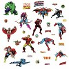32 MARVEL CLASSICS Peel and Stick Wall Decal - ROOMMATES - image 4 of 4
