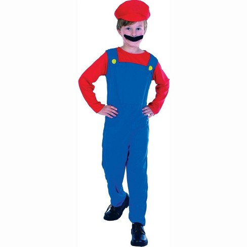 Orion Costumes Super Plumber Child Costume - image 1 of 1