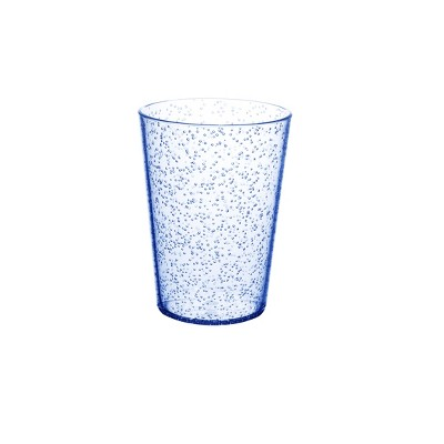 Plastic Short Bubble Tumbler 16oz Whimsical Blue - Room Essentials™