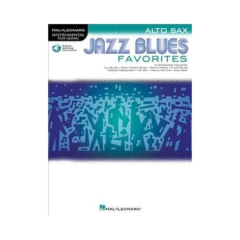 Jazz Blues Favorites Alto Sax Hal Leonard Instrumental Play Along