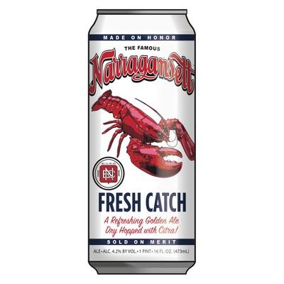Narragansett Fresh Catch Golden Ale Beer - 6pk/16 fl oz Cans