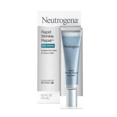 Neutrogena Rapid Wrinkle Repair Eye Cream with Hyaluronic Acid - 0.5 fl oz