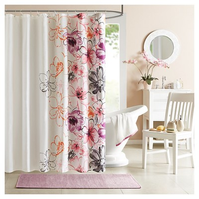 Shower Curtain - Pink