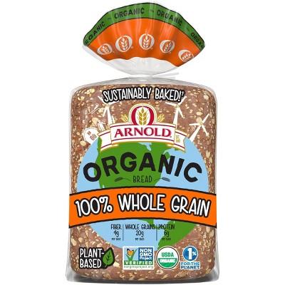 Arnold Organic 100% Whole Grain Sandwich Bread - 765g