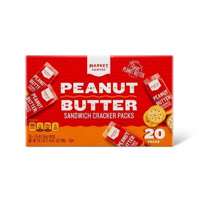 Peanut Butter Sandwich Crackers - 20ct - Market Pantry™