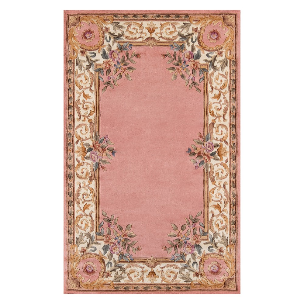 8'X11' Floral Tufted Area Rug Rose (Pink) - Momeni