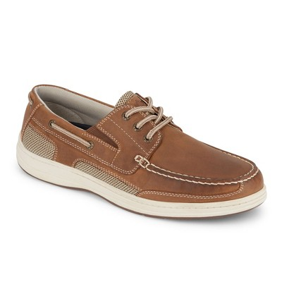 Dockers Mens Beacon Leather Casual Classic Boat Shoe with NeverWet