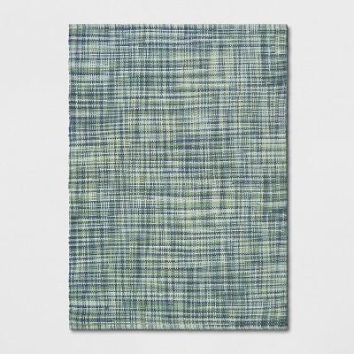 Basketweave Tie Dye Design Woven Rug - Project 62™