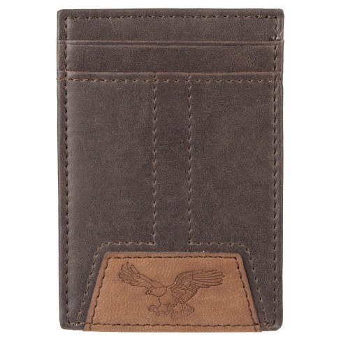 DENIZEN® from Levi's® Men's Wide Magnetic Front Pocket Wallet - Brown - image 1 of 4