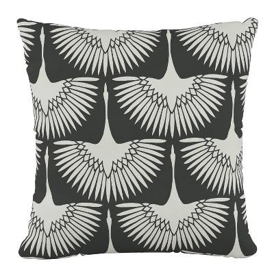 Outdoor Throw Pillow Flock Midnight  Furniture Mfg - Skyline Furniture
