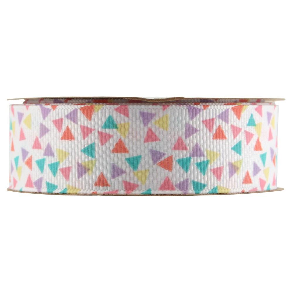 Triangle Confetti Decorative Ribbon - Spritz, Multi-Colored