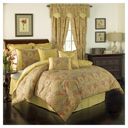Swept Away Comforter Set King Multicolor 3 Piece Waverly