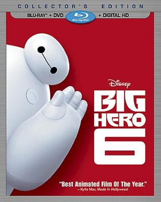 Big Hero 6 (2 Discs)(Includes Digital Copy)(Blu-ray/DVD)