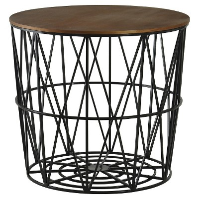 Merveilleux Storage Accent Table   Black   Room Essentials™ : Target