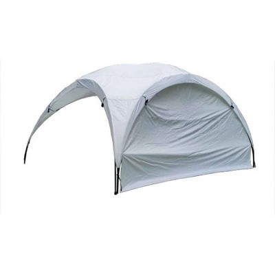 PahaQue Teardrop Dome Sidewall, Wind, Rain, and Sun Protection for Camping Canopy, White