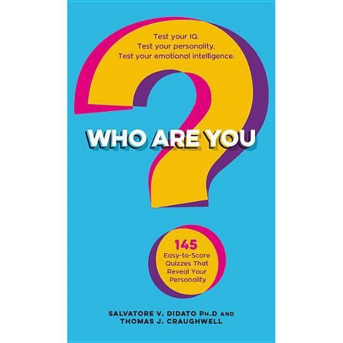 Who Are You? - by Salvatore V Didato & Thomas J Craughwell (Paperback)