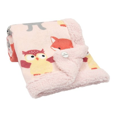 Lambs & Ivy Little Woodland Blank - Pink