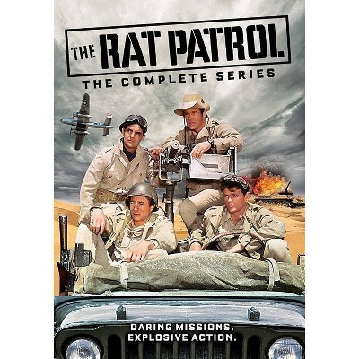 The Rat Patrol: The Complete Series (DVD)(2018)