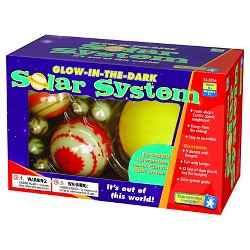 Educational Insights Glow-in-the-dark Solar System