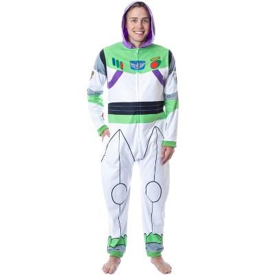 Disney Mens' Toy Story Buzz Lightyear Costume Pajama Union Suit