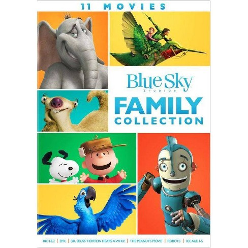 Blue Sky: 11 Movie Family Collection (DVD) - image 1 of 1