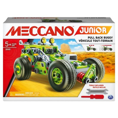 Erector by Meccano Discovery  Pull-Back Buggy STEAM Model Building Kit