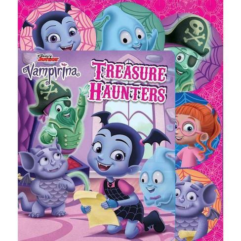 Disney Vampirina: Treasure Haunters - (Sliding Tab) (Board_book) - image 1 of 1