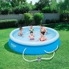 Bestway 12ft x 30in Fast Set Up Inflatable Above Ground Pool w/ Filter Pump - image 2 of 4