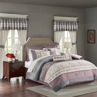 Ivana Comforter Set with Embroidery 24pc