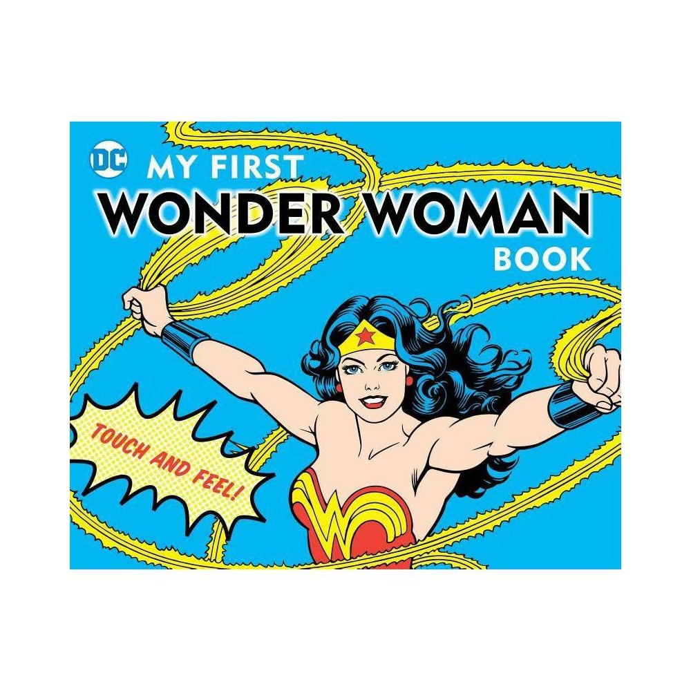 My First Wonder Woman Book Dc Super Heroes By David Bar Katz Board Book