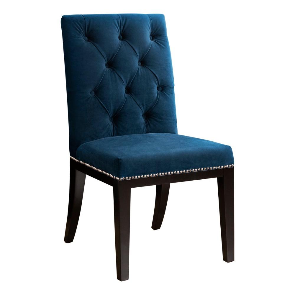 Fairmont Tufted Dining Chair Navy (Blue) - Abbyson Living