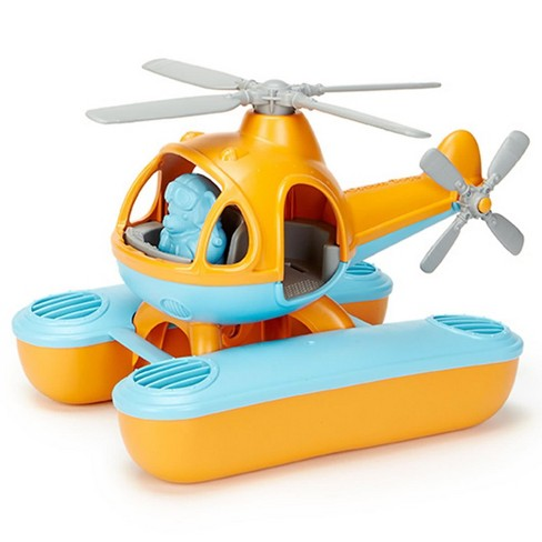 Green Toys Sea Copter Orange - image 1 of 4