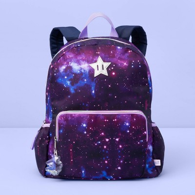 girls-galaxy-print-backpack---more-than-magic-purple by shop-this-collection