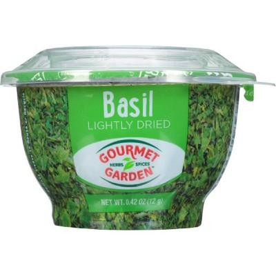 Gourmet Garden Lightly Dried Basil - 0.42oz