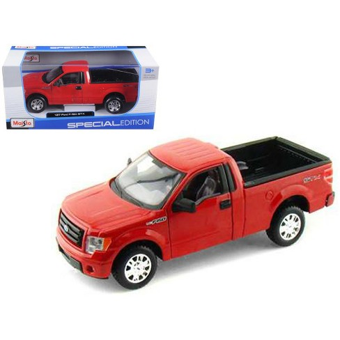 2010 Ford F-150 STX Pickup Truck Red 1/27 Diecast Model by Maisto - image 1 of 1