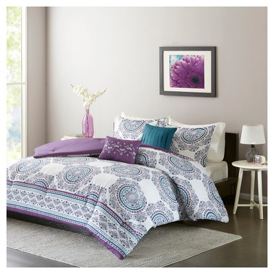 Camryn Medallion Printed Comforter Set