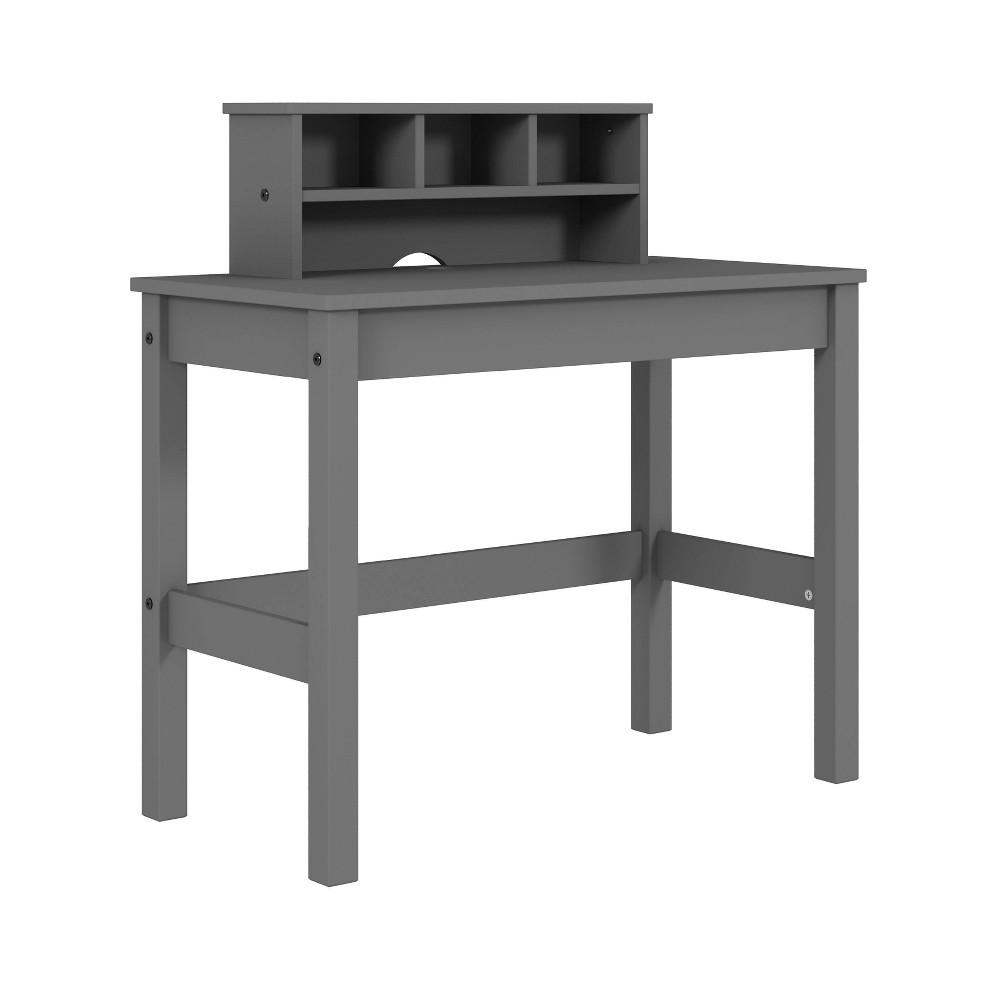 Logan Writing Desk Gray - Acme Furniture Logan Writing Desk Gray - Acme Furniture