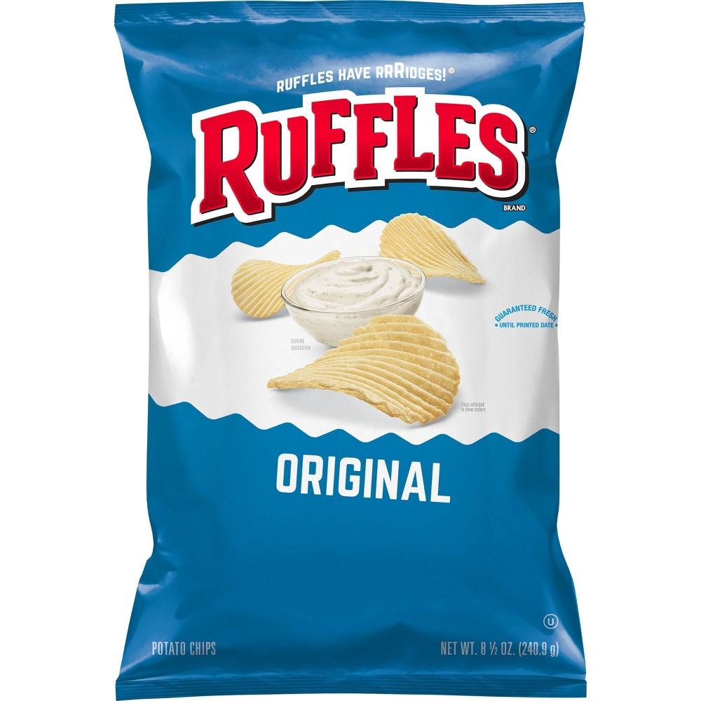 Ruffles Original Flavor Ridged Potato Chips 8 5oz