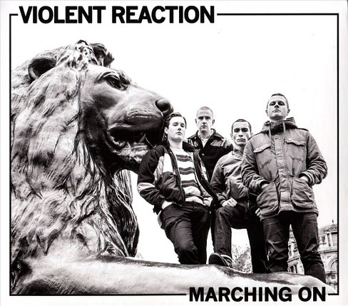 Violent reaction - Marching on (CD) - image 1 of 1